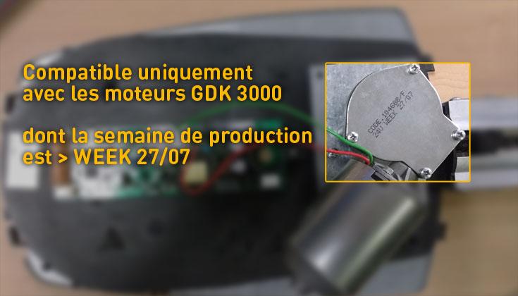 moteur seul GDK 3000 GDK 4000