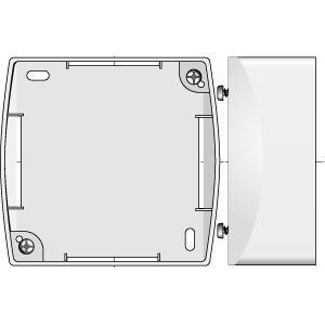 bo tier montage en saillie blanc inis 9001244 acc ssoires volets ro. Black Bedroom Furniture Sets. Home Design Ideas
