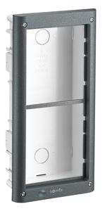 Cadre 2 modules encastré pour VSYSTEMPRO